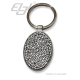 Keychain Oval Lux