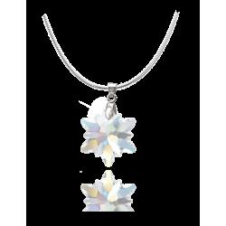Swarovski Edelweis Necklace