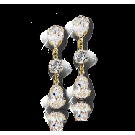 Earrings Crystal Rain Drop