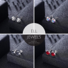 Earrings Shiny Crystals