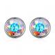 Обеци Shiny Crystals