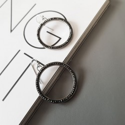 Earrings CIRCLE HOOPS