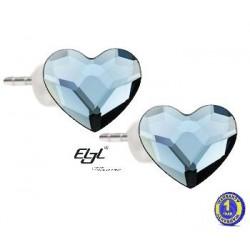 Earrings Heart 14F RP