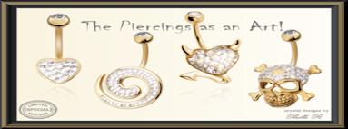 Surgical steel 316 piercings